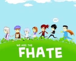 WE ARE THE FHATE by edwardjener