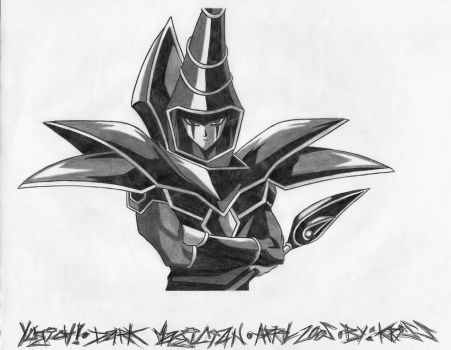 Dark Magician by LordDiablo006