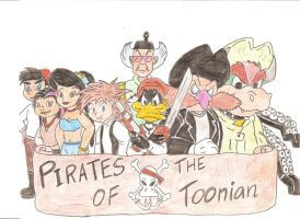 Pirates of The Toonian by Jose-Ramiro
