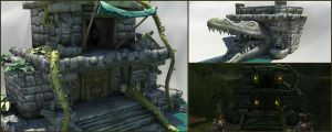 Stinking Swamp Temples by GninjaGnome