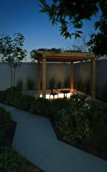 pergola (night) by 256yee
