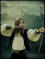 Elven Archer by Pickyme