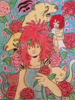 +Anima: Rose, A Cat +Anima, with Cats (2nd) by GhibliLover92