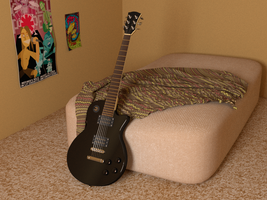 Guitar by XArgon42