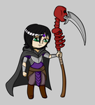 Kheih Death Cleric of Nerull by ZombieMinion1992