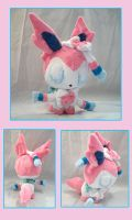 Sylveon Plush by VanguardWingal