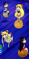 planets sailor moon style by Milk-Tea-Panda