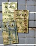 Grinder Cards by Rootfireember