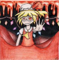 Flandre Death by Ice-Fire-Bolt