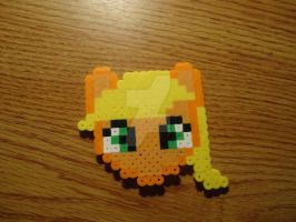 Chibi Applejack Head by PixelsandStitches