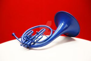 The Blue French Horn HIMYM Prop 1 by Minato-117
