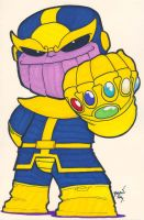 Chibi-Thanos 4. by hedbonstudios