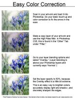 Easy Color Correction for Your Scanned Artwork by Aryenne