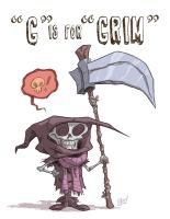 G Is For Grim by OtisFrampton