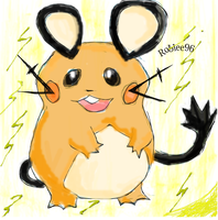 Dedenne by roblee96