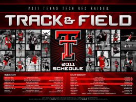 11 ttu track and field poster by Satansgoalie