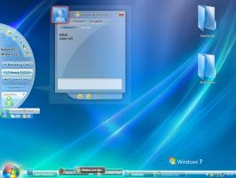 My first Windows Seven Concept by VicK88