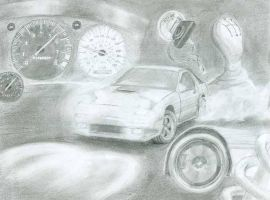 RX-7 Turning Instant by gigavantes