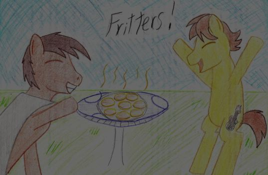 Fritters for Mando by ShinyWhisper18