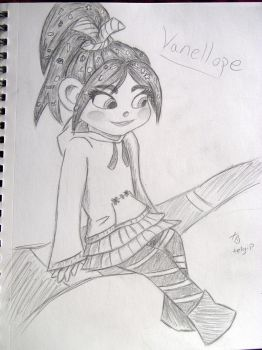 Vanellope by telgip-love