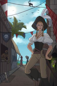 Pirate Town by Brett-Neufeld