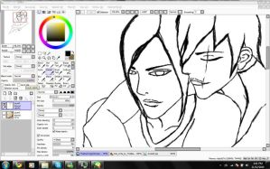 AshXAzrael :WIP: by uNDYINGSILENCE