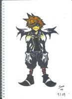 Sora Halloween Town by jiehng