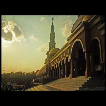 The Mosque of Islamic Center by sawjpsart-proj