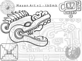 Mayan Art v1 - by tb0mb by photodeviationists