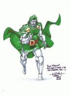 Dr Doom - Japan Expo 2009 by SpiderGuile
