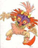 Skull kid by Utziel