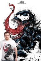Venom t-shirt by bykai