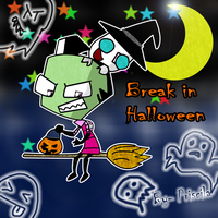 Happy_Hallowen_IZ by Dphantomgirl