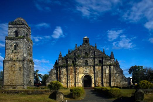 Paoay Church in HDR by pinay-malaya