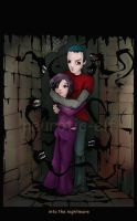 into the nightmare.. by neurotic-elf