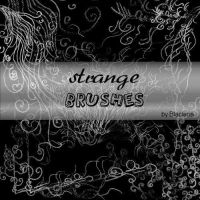 Strangebrushes PS by BlaclyStuff