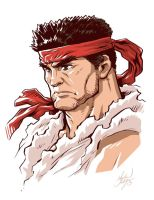 Weathered Ryu by MichaelMayne