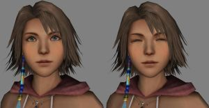 Yuna Faces 3d by sidneymadmax
