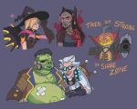 OVERWATCH HALLOWEEN by jennyjams