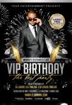 Welcome 2013 VIP Birthday | Flyer + Facebook Cover by LouisTwelve-Design