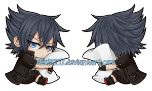 1.5in Noctis Double-Sided Acrylic Charm by shiniXIII