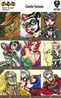 Cryptozoic's DC Sketchcards: Preview of 9 Cards by CamiFortuna