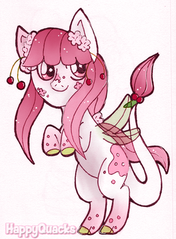 Cherry Blossom Commission for Fairy-Manager by HappyQuacks