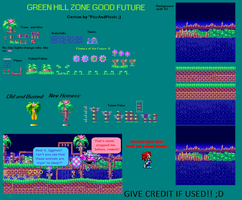 Green Hill Zone   Good Future dev version by PicsAndPixels
