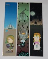 The Legend of Zelda Bookmarks by knil-maloon