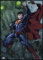 Superman by BrokenNoah