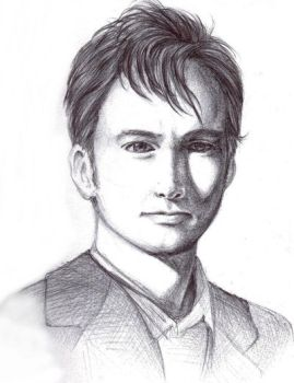 The 10th Doctor by shiharai