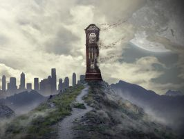 Time Affects Us All by AlexHorakDesigns