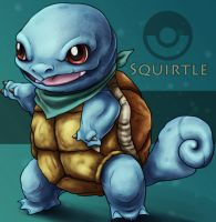 Pokemon: Squirtle by Trance-Sephigoth