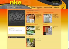 Site NKE home control by Giboo